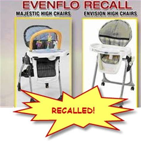 Evenflo High Chair Recall 2009 the bashhh gossips stuff american