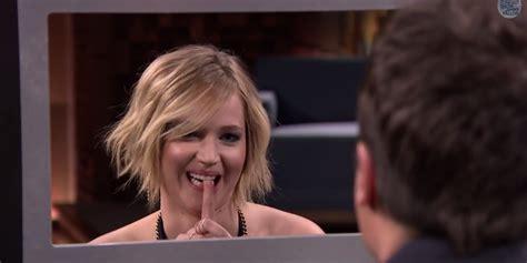 Jennifer Lawrence Plays Box Of Lies With Jimmy Fallon