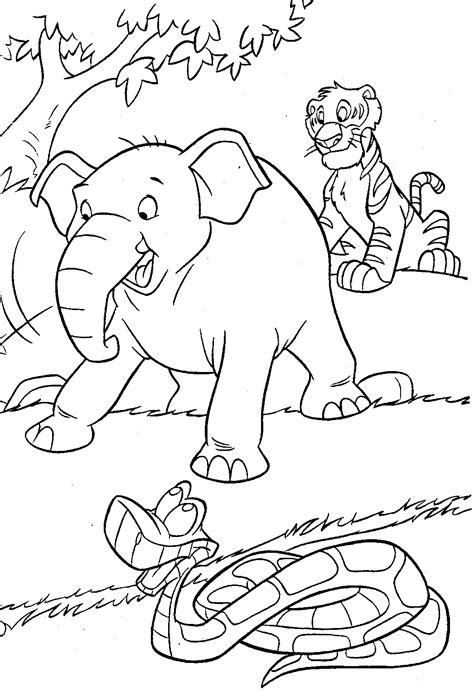 Coloring Jungle by Jungle Coloring Pages 14 Coloring