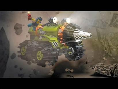 Lego Miners Power Thunder Desktop Wallpapers Driller