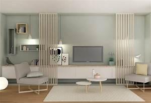 Ensemble Salon Scandinave : ensemble meuble salon salle a manger digpres ~ Teatrodelosmanantiales.com Idées de Décoration
