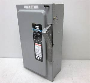 Siemens Ite Nf352 60 Amp Not Fusible Disconnect Safety Switch New
