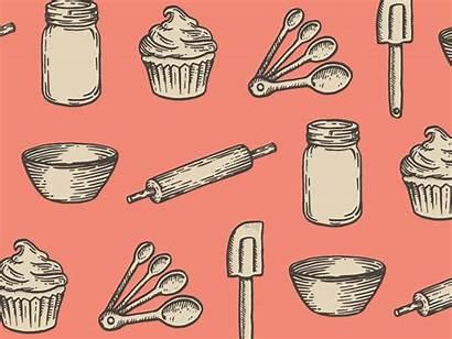 Illustrations Bake Dribbble Baking Illustration Branding Cupcake