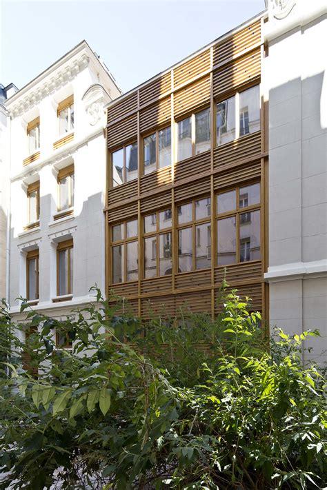 immeuble de bureaux parc architectes restructuration des façades d un