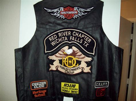 Motorcycle Vest Patches Rules