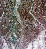 Earth From Space Image of Romania