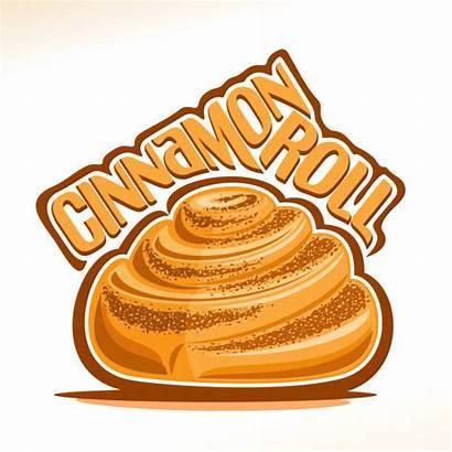 Cinnamon Roll Sweet Cinnabon Bun Poster Svedese