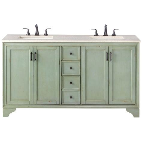 home depot double sink vanity home decorators collection hazelton 61 in double vanity