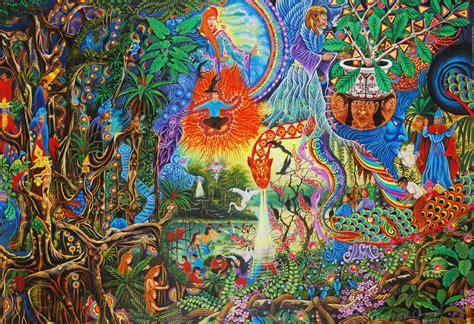 post cuando la ayahuasca somete al arte