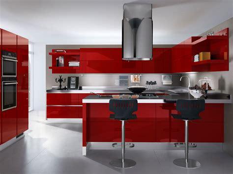 cucina scavolini rossa 30 modelli di cucine rosse dal design moderno mondodesign it