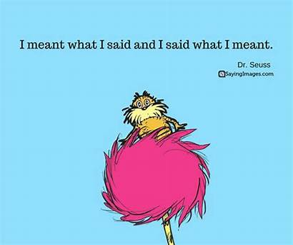 Dr Quotes Lorax Seuss Suess Favorite Smile