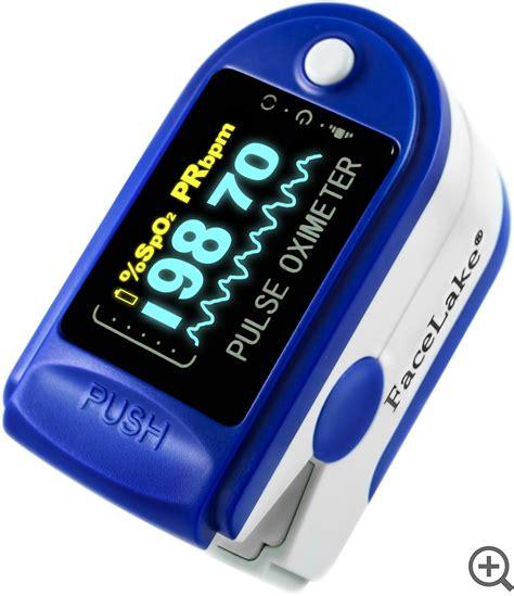 FL350 Fingertip Pulse Oximeter - Blood Oxygen Monitor