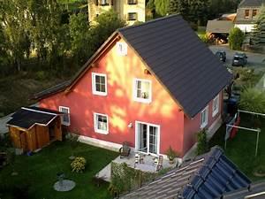Haus Von Oben : klassisches einfamilienhaus mit angebauter garage eab massivhaus gmbh co kg ~ Watch28wear.com Haus und Dekorationen