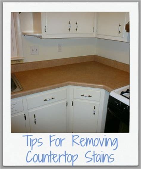 how to remove countertop stains removing countertop stains tips home remedies