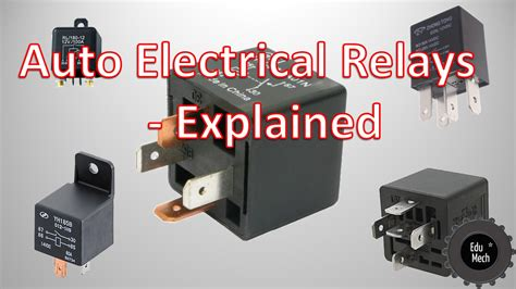 car relays explained auto electrical relays explained how they work and where