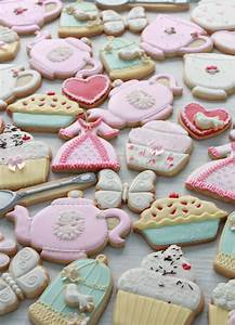 High Tea Party Decorated Cookies | Sweetopia