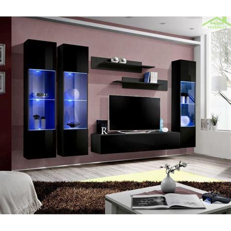 ensemble tv mural ensemble meuble tv mural fly c avec led