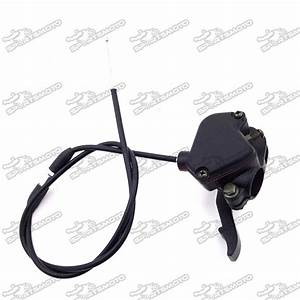 7  8 U0026 39  U0026 39  22mm Thumb Throttle Cable Accelerator Handle