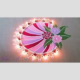Rangoli Designs With Flowers And Colours | 1280 x 720 jpeg 151kB