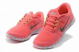 Nike Free Run 3 Womens Size 9.5 Hot Punch Reflective ...