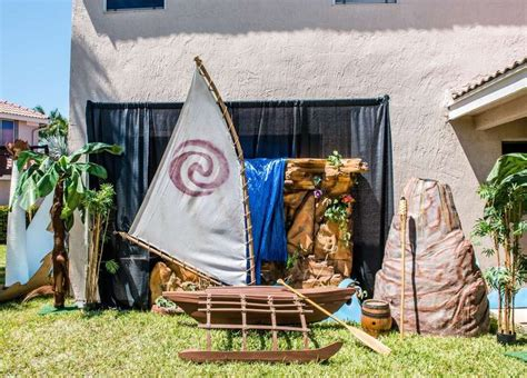 Moana Boat Prop by 303 Best Moana Birthday Ideas Images On