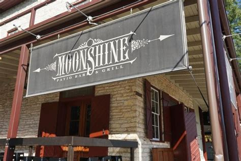 nice typography applause picture of moonshine patio