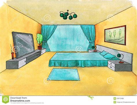 croquis de chambre croquis graphique d 39 une chambre à coucher intérieure