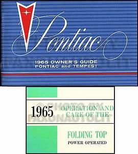 1965 Pontiac Air Conditioning Repair Shop Manual Reprint