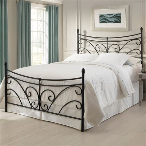 cast iron queen bed frame antique black beds the american