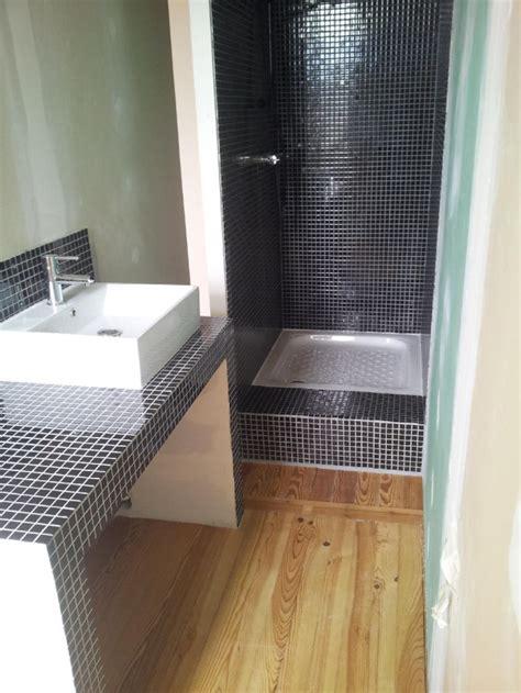 carreau de platre salle de bain rideaux pour meuble de salle de bain plan vasque faire soi m