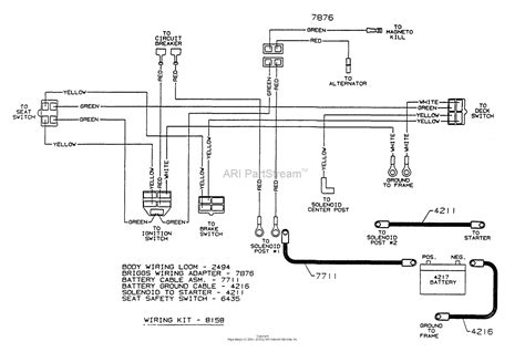 Wiring Diagram For A by Dixon Ztr 3304 1997 Parts Diagram For Wiring Assembly