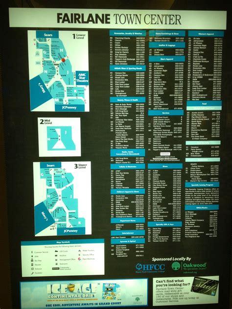 fairlane mall map handy map periodic table diagram