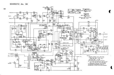 Dbx Crossover Wiring Diagram by Dbx 160vu Trim Resistors Question Gearslutz Pro Audio