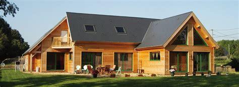 maisons contemporaines en bois maison contemporaine en ossature bois