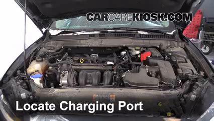 add refrigerant     ford fusion