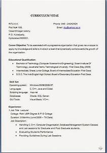 Resume format resume format job application download for Format of resume for job application to download