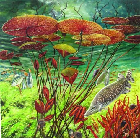 Olav Wir Garten Im Herbst by Wildlife I Unterwasser Hecht Bl 228 Tter Barsch