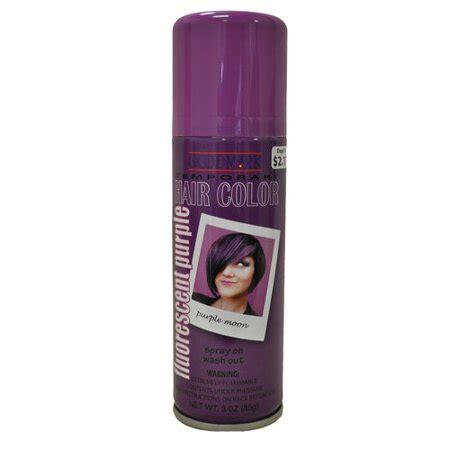 goodmark temporary hair color spray purple walmart