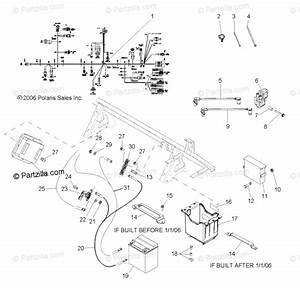 Polaris Side By Side 2006 Oem Parts Diagram For Electrical