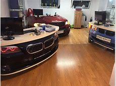 BMW front end clip office desks!