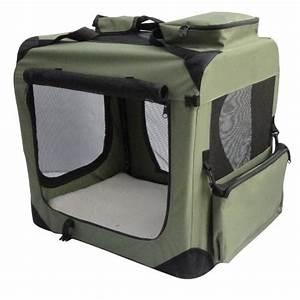 elitefield sage green 42quot 3 door soft dog crate 42quot long With elitefield dog crate