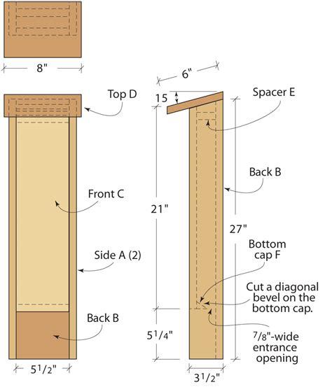 build  bat house popular woodworking magazine