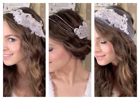 diy hair accessories for wedding diy 3 boho bridal hair accessories