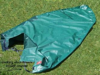 Orkney Dory Boat Cover by Fullover Covers