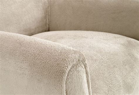 sahara cream plush chenille fabric laguna modern club chair