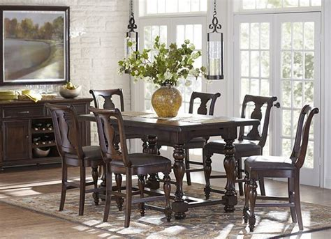 havertys kitchen table sets morningside counter height dining set at haverty 39 s