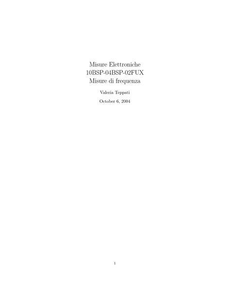 Dispensa Elettrotecnica by Lezioni Appunti Di Fondamenti Di Elettrotecnica