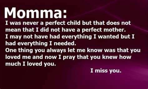 Information About I Miss You So Much Mom Quotes Yousenseinfo