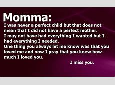 Missing My Mom Quotes And Sayings | auto-kfz info