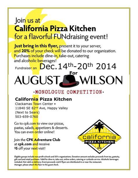 california pizza kitchen clackamas august wilson monologue competition california pizza